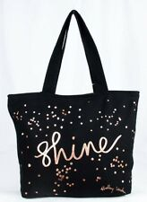 ** RADLEY LONDON Shine Black Zip Top Large Tote Bag Msrp $35.00