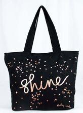 RADLEY LONDON Shine Black Zip Top  Large Tote Bag Msrp $35.00