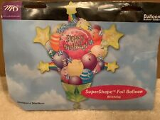 SuperShape Foil Balloon Happy Birthday 26� New In Package