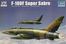 Trumpeter 1/72 F-100F Super Sabre # 01650