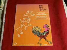 JEAN KNIGHT~ MR BIG STUFF~ EXCELLENT SHAPE~ SHEET MUSIC