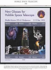 PALAU 1998 HUBBLE SPACE TELESCOPE M/S + 3 S/S MNH ASTRONOMY