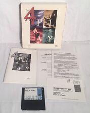 "Vintage FOUR PLAY PC Game Windows 3.1 3.5"" Floppy Disk CIB Big Box Complete"