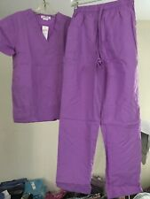 Expo scrubs set Unisex 2 pieces, Color: Violet size: Small