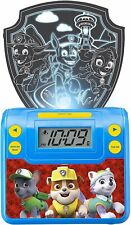 Paw Patrol Digital Alarm Clock with Night Light, Alarm Clocks for Kids...