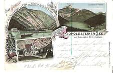"""AK-Steiermark-""""Gruss aus LEOPOLDSTEINER SEE bei Eisenerz"""" 24.8.1896?"""