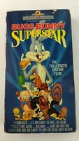 Bugs Bunny Superstar (VHS Tape) Full Length Feature Film