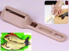 Kitchen Food Tools Craft Fish Scaler Remover Cleaner Peeler Descaler Skin Tool