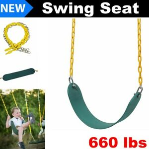 1 Pack Heavy Duty Swing Seat Swings Set Accessories Swing Seat Replacement Adult