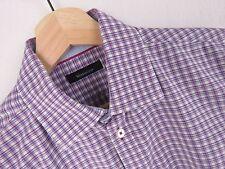 f092 Matinique Camisa top elegante ORIGINAL Cuadros Premium Talla M / 39-40