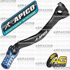 Apico Black Blue Gear Pedal Lever Shifter For TM EN 250F 2014 Motocross Enduro
