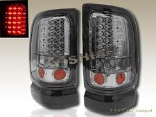 1994-2001 Dodge Ram Tail Lights LED Smoke  96 97 98 99