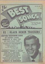 1950s XV #11 --- BEST SONGS vintage music magazine - JOHNNIE RAY
