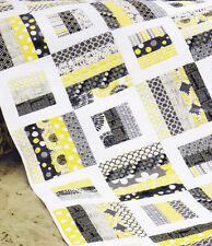 Radio Way - fabulous easy modern pieced quilt PATTERN - Jaybird