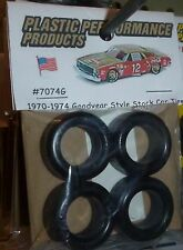 NASCAR 1/25 GOODYEAR CUP TIRES SET STOCK CAR MODEL PPP 7074G TREAD