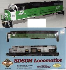 Life-like Proto 2000 - 30170-Burlington Northern sd60-White Face-nuevo