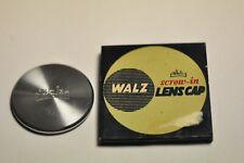 Walz #106 34mm screw in metal front lens cap. New