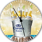 Corona Extra Beer Wall Clock Frameless Silent Nice For Gifts or Decor G100