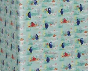 3 Rolls FINDING DORY-NEMO Wrapping Paper Rolls  37.5 SQ. FEET Total-Sealed-Hard