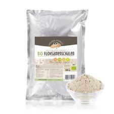 Bio Flohsamenschalen Pulver gemahlen Psyllium indisch 95% Reinheit