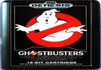 Ghostbusters (1990) 16 Bit Game Card For Sega Genesis / Mega Drive System