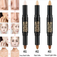 Fashion Natural Cream Face Eye Foundation Concealer Highlight Contour Pen Stick