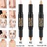 Fashion Natural Cream Face Eye Foundation Concealer Highlight Contour Pen Stick