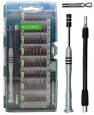 ACENIX® 60 in 1 [Updated S2 Version ] Precision Screwdriver Set For Cell Phones