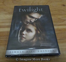 NEW/SEALED DVD: Twilight ~ First Movie in Saga ~ Kristen Stewart