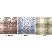 3D Self-Adhesive Wall Tiles Mosaic Stick On Kitchen/Bathroom Wall Tiles Decal