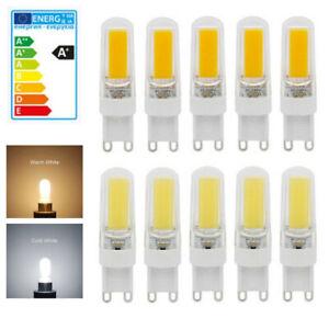 G9 LED 10W COB Dimmbar Birne Leuchtmittel Halogenlampe Lampe Warmweiß Kaltweiß