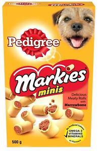 2 x Pedigree Markies Original 500g (Pack of 2) dog treats