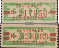 DDR DB30-DB31 (kompl.Ausg.) postfrisch 1959 Zentraler Kurierdienst