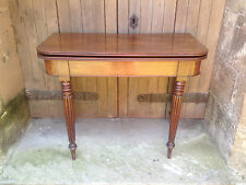 fine quality GILLOWS style early/mid 19th century mahogany CARD BRE
