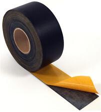 EPDM Fugenband 0,8mm 70mm x 25m schwarz selbstklebend Dichtungsband Dichtband