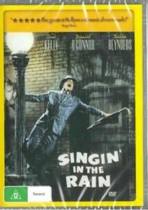 Singin Singing in the Rain DVD Brand New and Sealed Australian Release