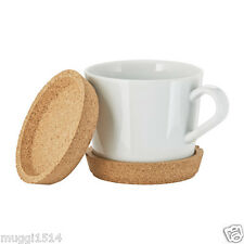 IKEA 365+ Coaster Cork 10 cm 2 Pack Table Cup Glass