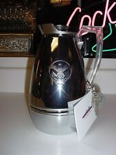 SS UNITED STATES LINES  Insignia Stateroom  Carafe  /  Mid-Century  /  No Dents