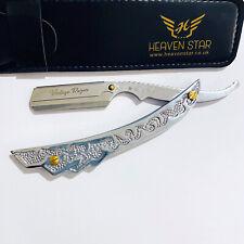 Mens Salon Barber Shave Razor Straight Cut Throat Vintage Series Stainless Steel