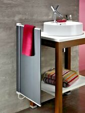 ELECTRIC RADIATOR TOWEL RAIL SLIMLINE ACOVA/ZEHNDER BNIB GRAPHITE GREY RRP £400+