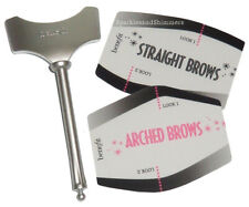 Benefit BROW Shaping Lining/Liner STENCIL: Straight & Arched Eyebrow Stencils