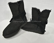 NEW! UGG Classic Knot Short Booties US Women's Size 10 M in Black