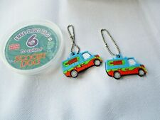 Vintage X 2 nutella Scooby Doo Mystery  Machine  Collectable dog tags