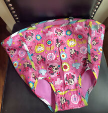 Disney Minnie Mouse PeekAboo Jumper ~ Fabric Seat Cover Pad Replacement Part Euc