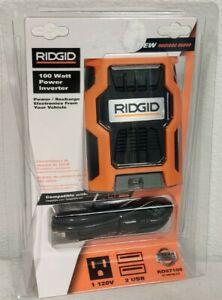 Ridgid 100 Watt Power Inverter RD97100 Ridgid 100W Inverter