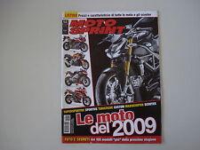 MOTOSPRINT 52/2008 SPECIALE 50 PAGINE LISTINO PREZZI MOTO E SCOOTER 2009