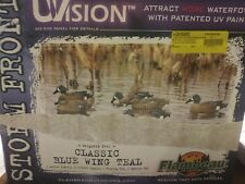 Duck Decoys - Flambeau (6 Pack) Storm Front Classic Blue Wing Teal (8016 00004000 Suv)