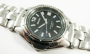 Seiko Silver Tone Stainless Steel 7N42-6B98 Sample Watch NON-WORKING