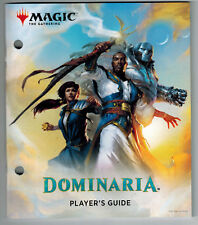 Players Guide ~ DOMINARIA ~ straight from Fat Pack Bundle mtg NEW Book