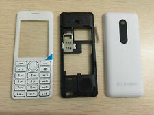 New Replacement Fulll body housing cover case keyboard for Nokia 206